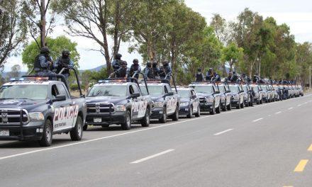 Resguardan fronteras de Hidalgo y Querétaro con operativo interestatal