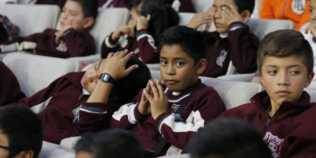 En Hidalgo, de cada 100 alumnos que ingresan al nivel básico egresan 35 de nivel superior
