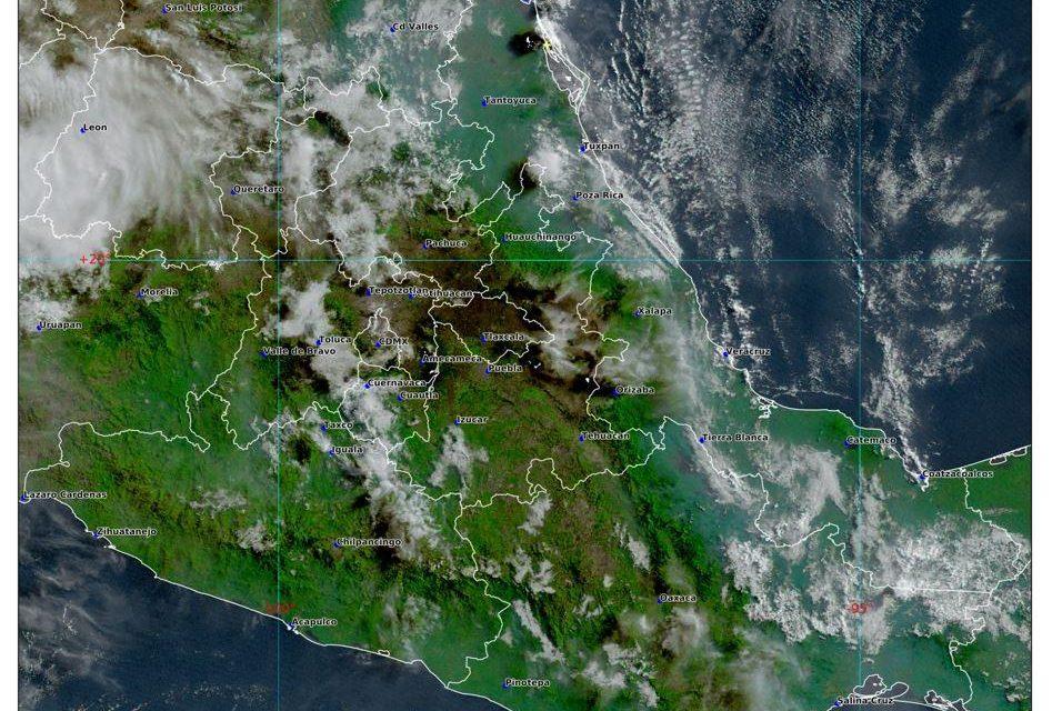 Aumenta potencial de lluvias en Hidalgo