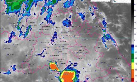 Continúa posibilidad de lluvias con probable actividad eléctrica