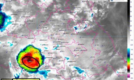 Continuarán lluvias en Hidalgo