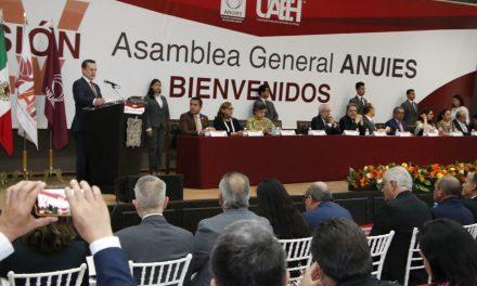 ANUIES participará en elaboración de consulta sobre la Reforma Educativa