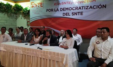 Maestros por México respalda a Elba Esther para retomar dirigencia del SNTE