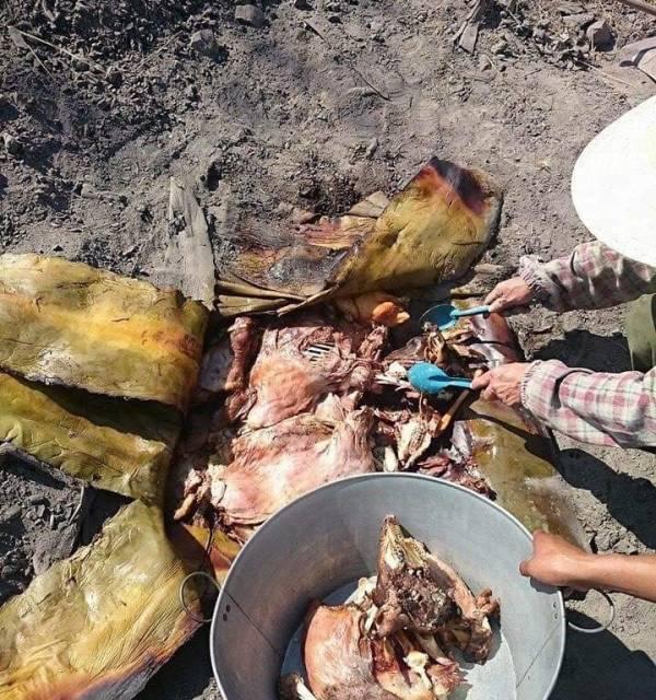 Habrá barbacoa de borrego, res, pollo, pescado y guajolote en el festival de Chilcuautla