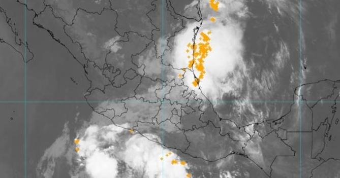 Continúa probabilidad de lluvias acompañadas de actividad eléctrica
