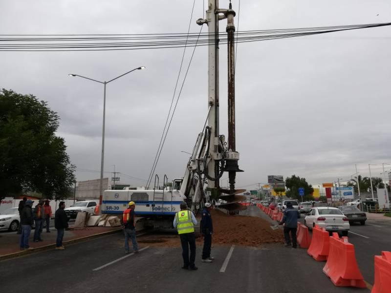 Inician perforaciones por la construcción de la segunda etapa de la Supervía Colosio