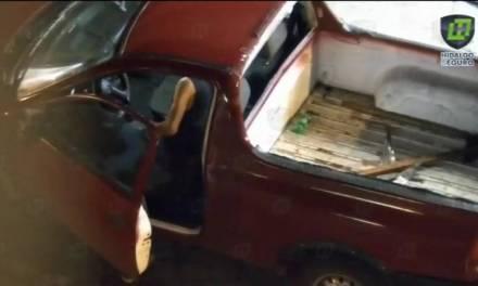 Cae presunto desvalijador de autos en Tulancingo