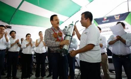 Damos voz a la gente para impulsar el desarrollo de Hidalgo: Fayad
