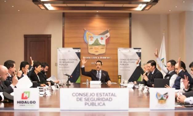 Reconocen a Hidalgo como estado comprometido con la seguridad