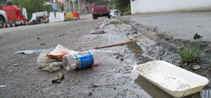 Incrementa problema de basura en las calles de Pachuca