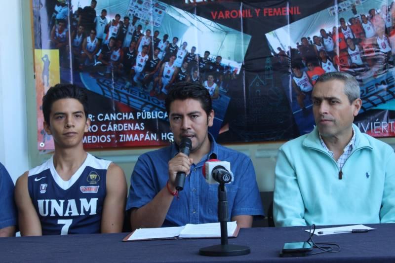 Ciclismo y basquetbol dentro de la Feria  Remedios de Zimapán