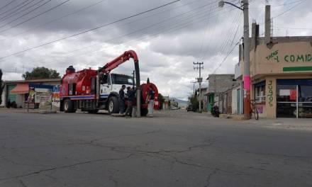 Realizan en Tizayuca acciones para prevenir inundaciones