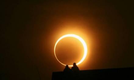 Se registra eclipse total de sol en Sudamérica