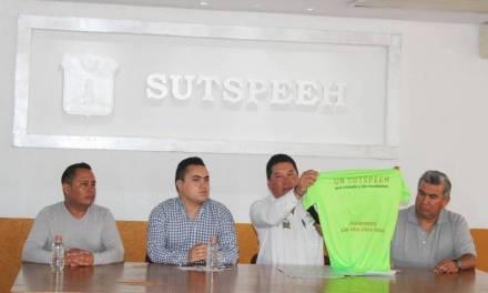 Presentaron la tradicional carrera Atlética SUTSPEEH