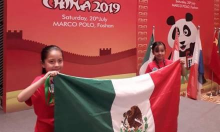 Niños Tizayuquenses ganan campeonato de cálculo mental en China