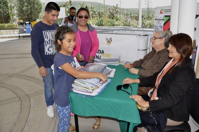 Semarnath implementará estrategia de acopio de libros y libretas para reciclaje
