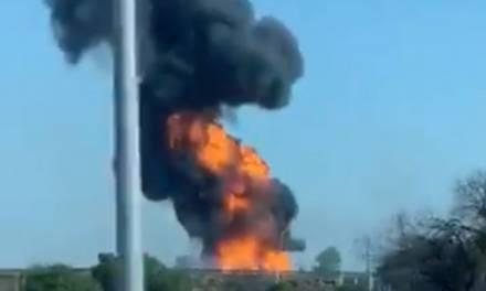 Explota ducto de Pemex en Celaya, se reportan 2 muertos