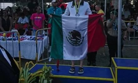 Dalahí Meza gana plata en CCCAN 2019 Swimming Championships en Barbados