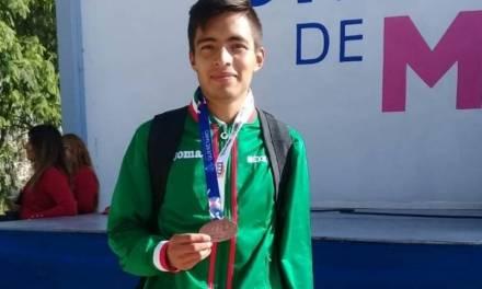 Javier Sánchez, bronce en el NACAC 2019