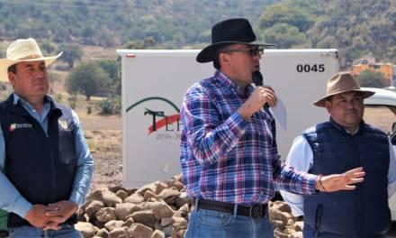 Alcalde Tepeapulco advierte que las lluvias podrían retrasar las obras