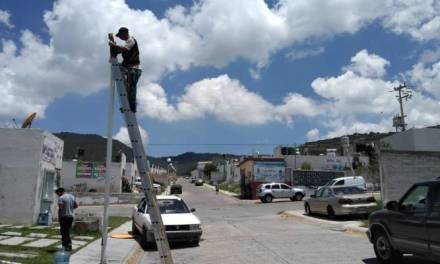 Piden rehabilitación integral del alumbrado público en Fraccionamiento Lomas del Álamo