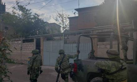 Realizan Mega Operativo Policial en 5 puntos rojos de Tepeji del Río