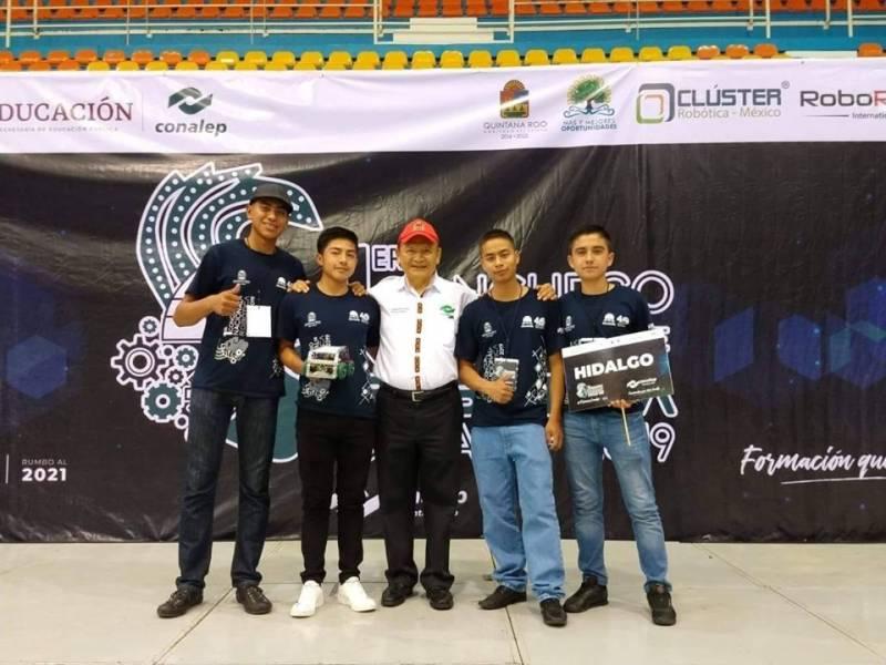 Estudiantes de Conalep Tizayuca representan a Hidalgo en competencia Nacional