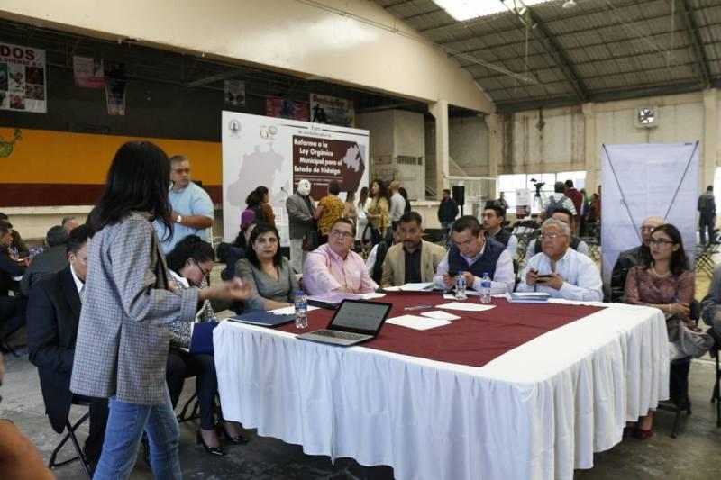 Realizan  Foro de Consulta para la Reforma a la Ley Orgánica Municipal