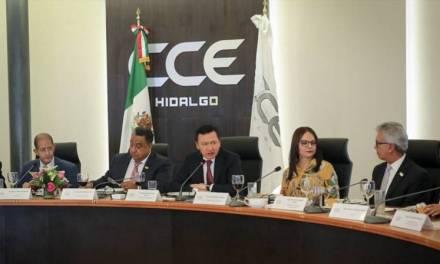 Osorio Chong y Nuvia Mayorga se reúnen con empresarios hidalguenses
