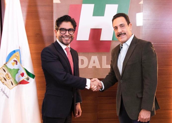 Anuncia Omar Fayad cambios en su gabinete