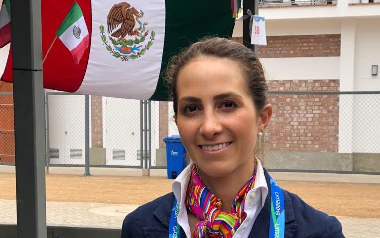 Martha del Valle a la final de adiestramiento en los Panamericanos