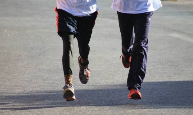 En puerta, carrera atlética 5k de Feria Santiago Tlapacoya