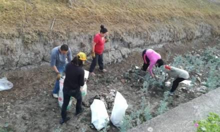 Jóvenes participarán en el proyecto Limpiando juntos por un Villa de Tezontepec mejor