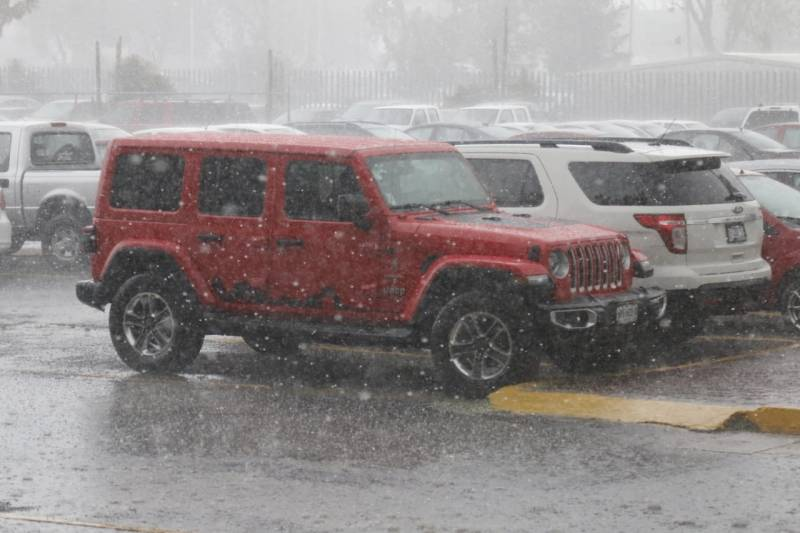 Continúa probabilidad de lluvias fuertes en el estado