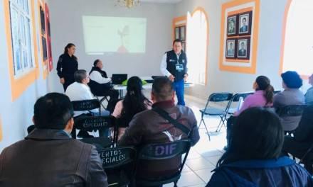 Entregan Manual de Delegados a autoridades comunitarias en Santiago Tulantepec