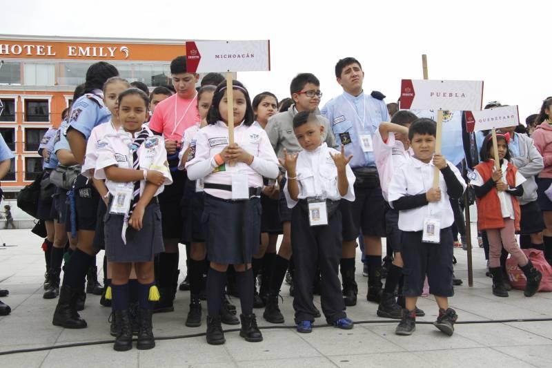 Exploradores se concentrarán en Hidalgo