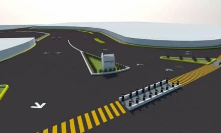 Sopot realiza obra de repavimentación en la carretera México-Pachuca