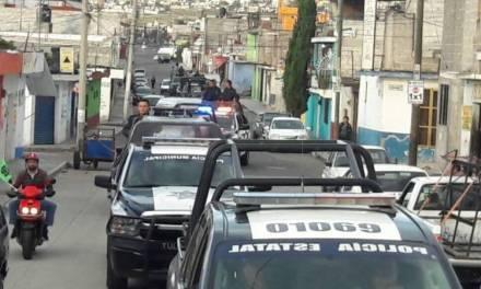 Mejoran estrategia policial en Tulancingo