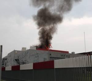 Se incendia Hospital de Alta Especialidad de Zumpango