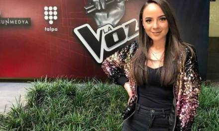 La hidalguense Fátima Domínguez ganó La voz México