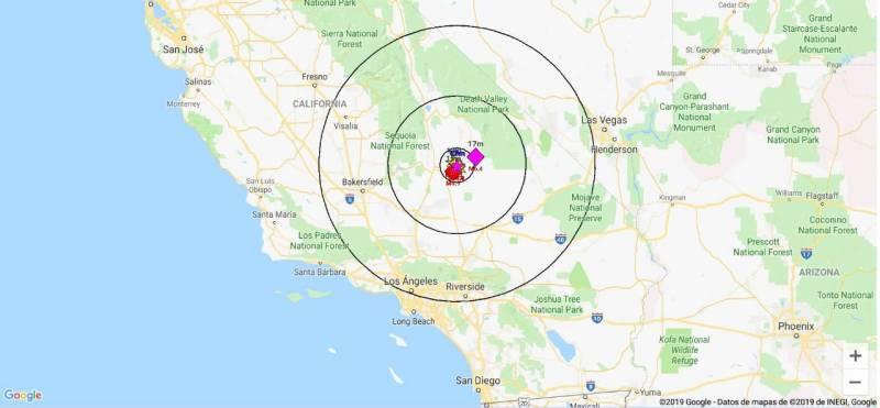 Sismo de 6.4 se siente en California, Estados Unidos
