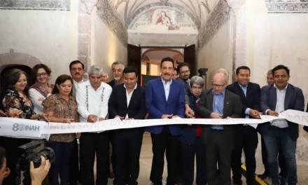 Inaugura Fayad exposición con piezas restauradas por INAH