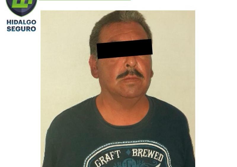 Asegura SSPH a individuo por presunto robo a domicilio en Pachuca