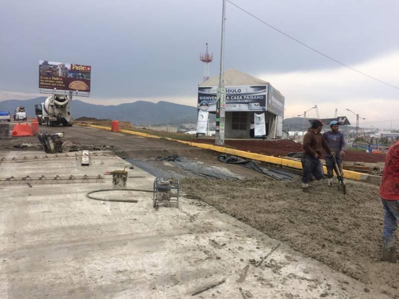 Informa Obras Públicas sentidos de circulación por obras en Supervía Colosio