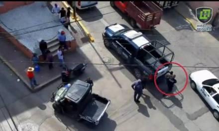 Frustran presunto robo a cadena comercial en Tulancingo