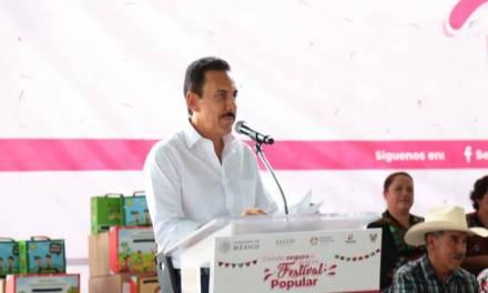 Vigente en Hidalgo el Seguro Popular: Omar Fayad