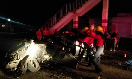 Impactó su vehículo contra puente en Barrio El Judío; fue trasladado al Hospital General