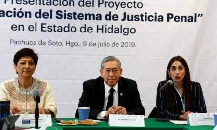 Trabaja Naciones Unidas y el gobierno estatal en la consolidación del Sistema de Justicia Penal