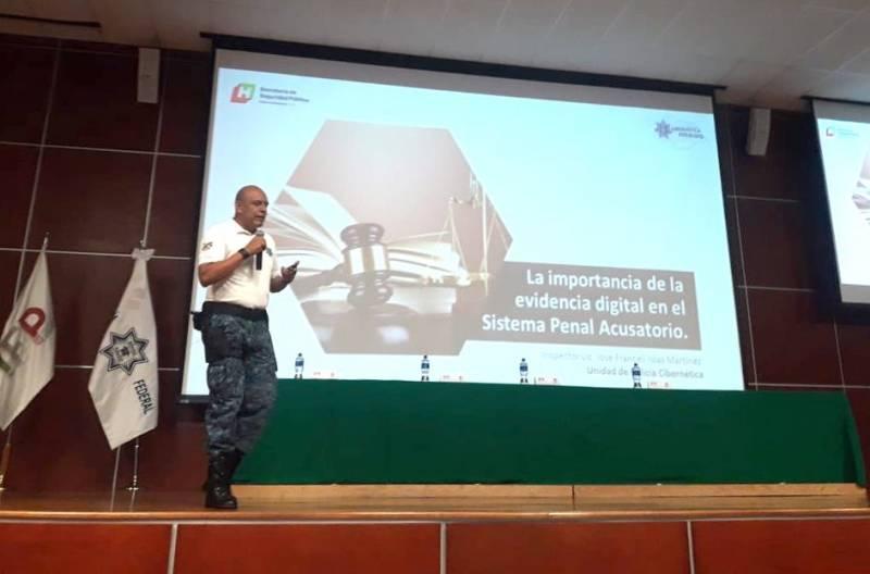 Participa SSPH en jornada de prevención de delitos cibernéticos