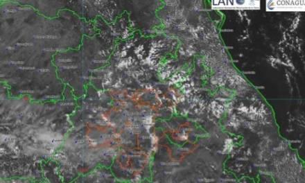 Continúa potencial de lluvias vespertinas en Hidalgo